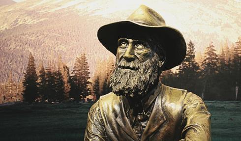 Yosemite National Park John Muir Statue