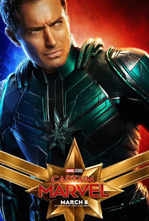 Captain Marvel First Look Poster 4