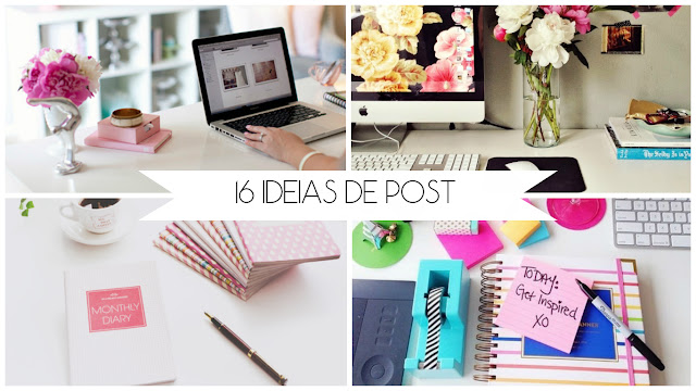 16 ideias de post