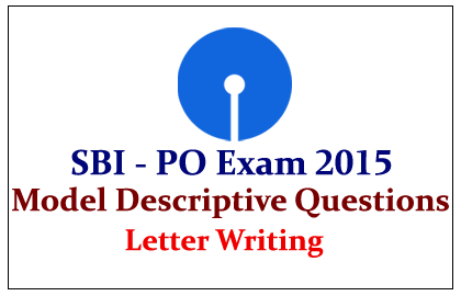 Model Descriptive Letter Writing Topic