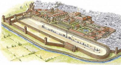 milano circo romana impero carceres