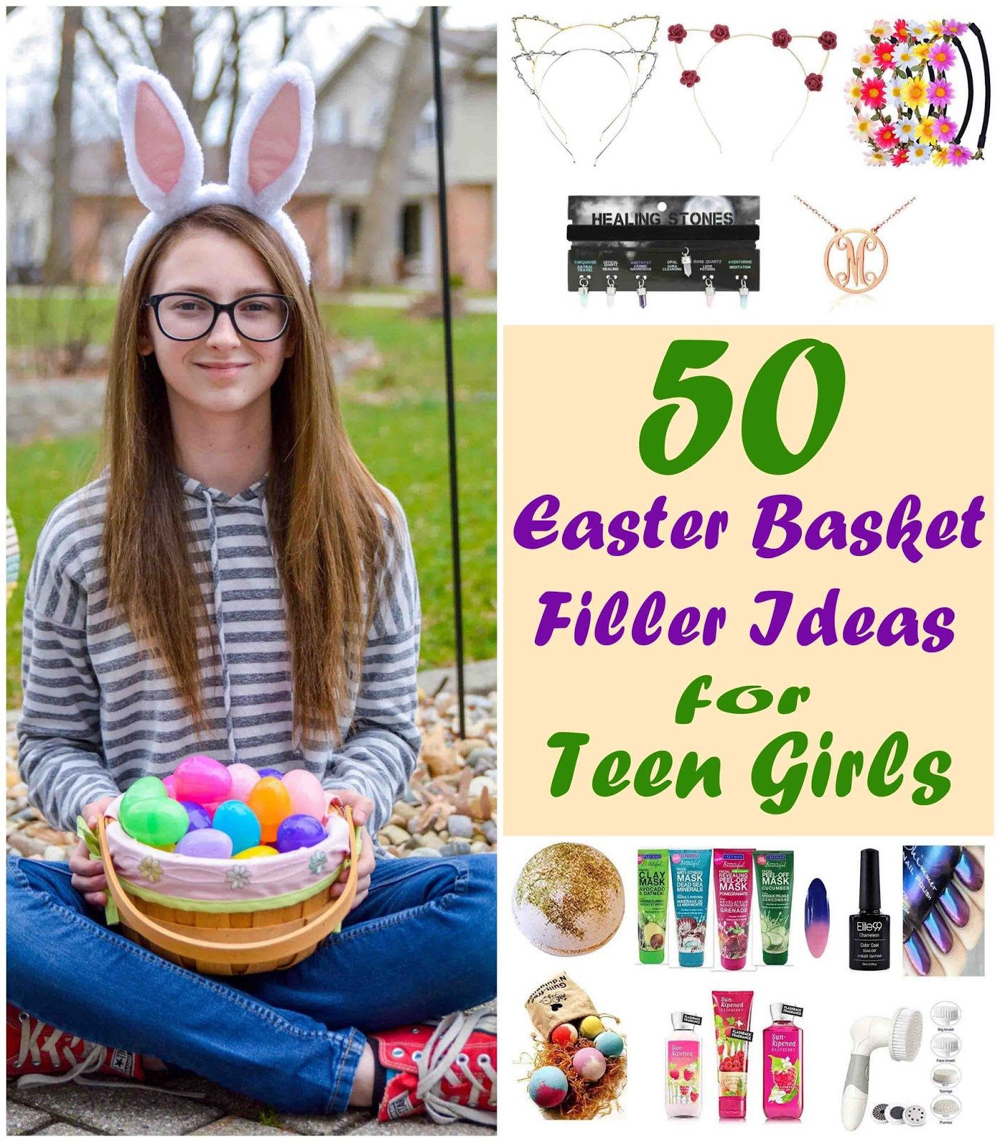 Theresas mixed nuts allisons top 50 easter basket filler picks so without further ado here are allisons top 50 easter basket picks for teen girls negle Images