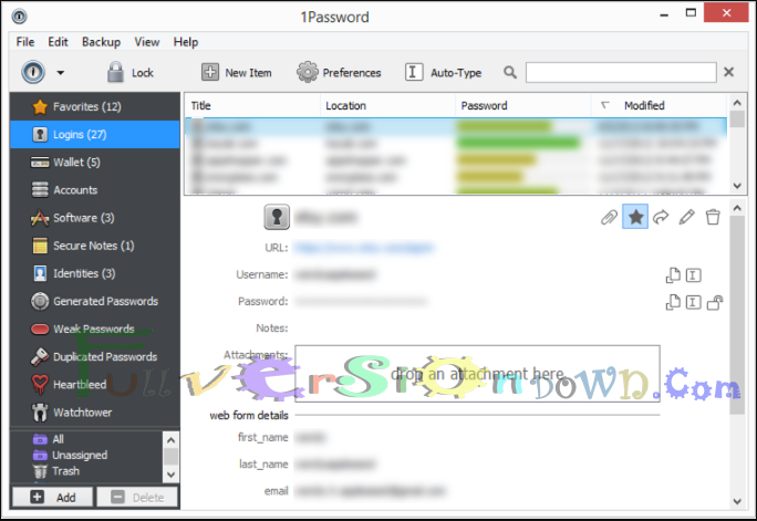 1Password for Windows Full Version