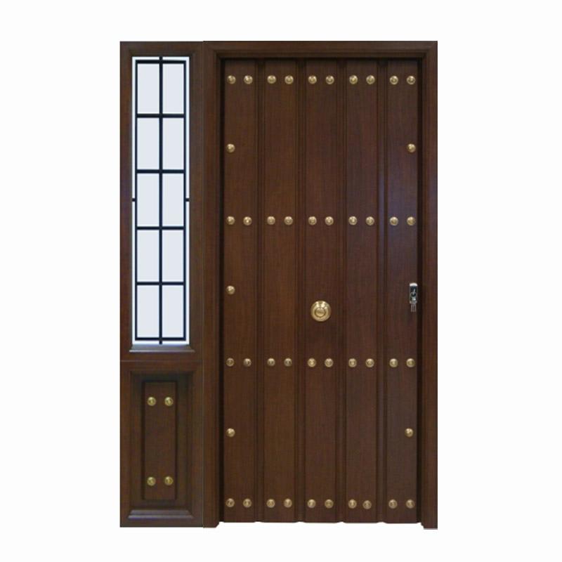 Modelos de puerta r stica for Puertas de entrada modernas precios