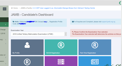 Login to Candidates Profile without Password [JAMB CBT Centers Guide]