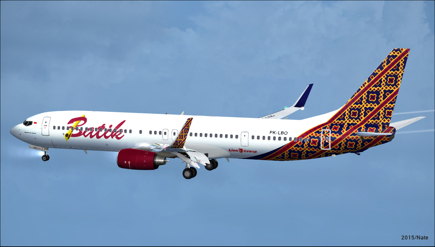 Boeing 737 9gper batik air multiple registrations pack batik air boeing 737 9gper multiple registrations pack stopboris Image collections