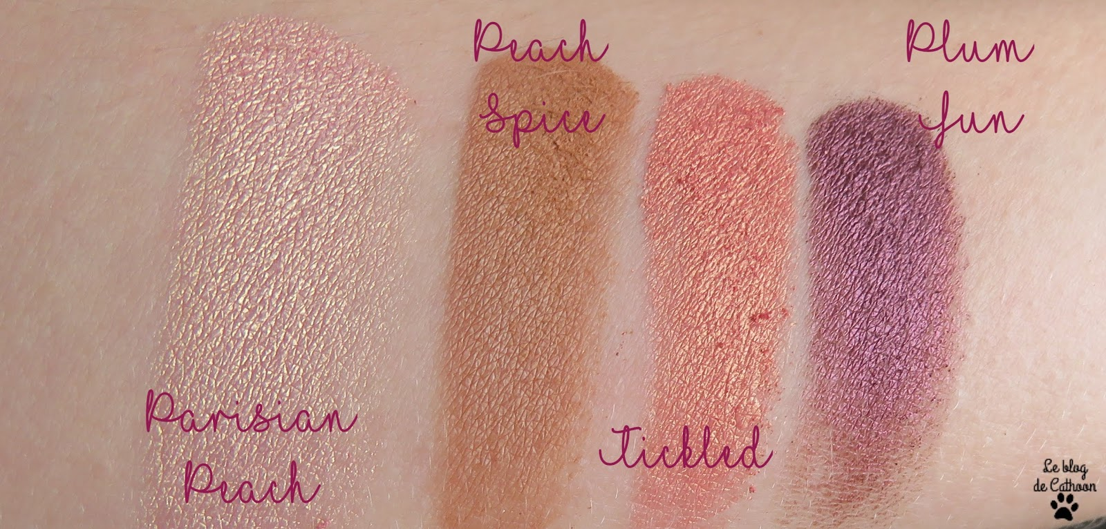 swatch Tickled Peach - Too Faced