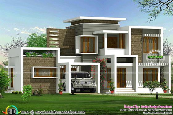 Beautiful box type contemporary home