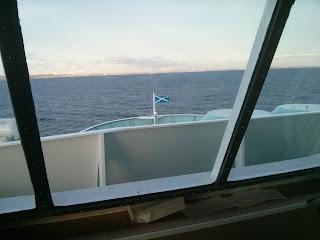Kilátás a hajó orrából