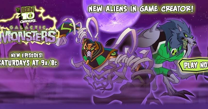 Omnitrix animes - Ben 10 Omniverse Galatic Monsters ...