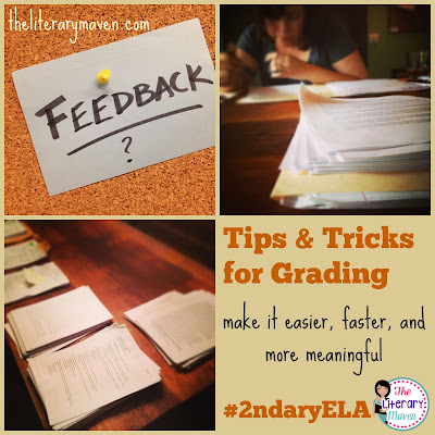 It is a struggle to make grades meaningful to students in ways that are not overly time consuming for teachers. In this #2ndaryELA Twitter chat, middle school and high school English Language Arts Teachers discuss most and least favorite assignments to mark, tips and tricks for grading, and implementing feedback. Read through the chat for ideas to implement in your own classroom.
