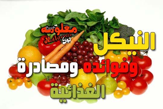 فوائد النيكل ومصادرة الغذائية
