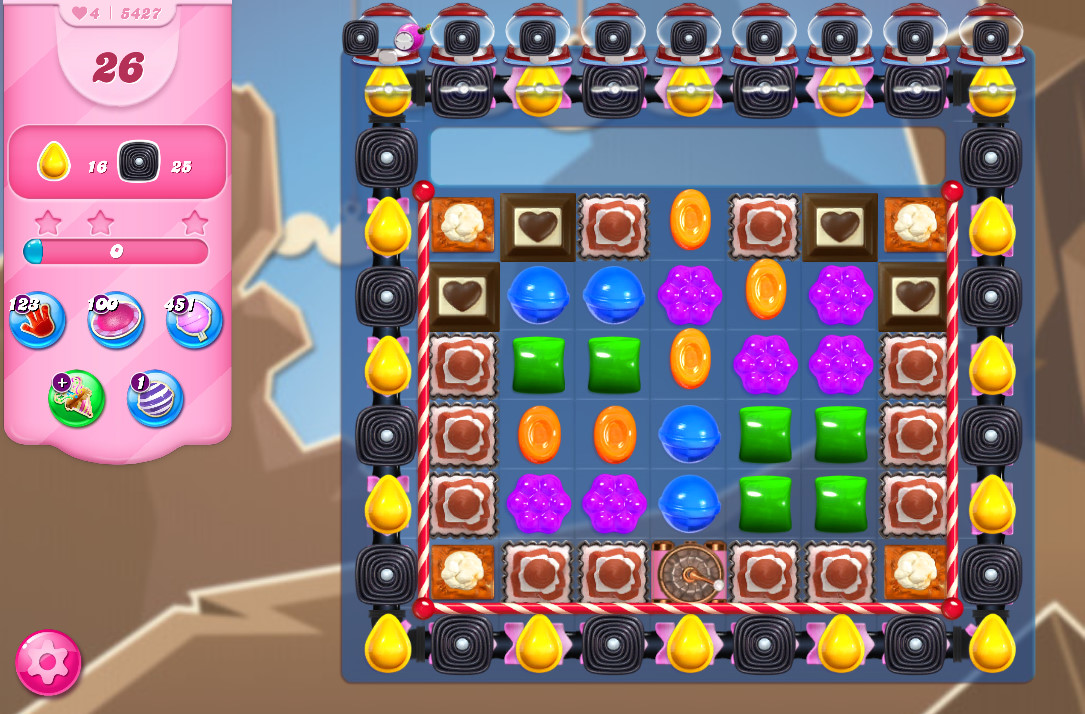 Candy Crush Saga level 5427