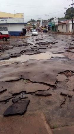 Fortes Chuvas deixam a cidade de Joselandia em destroços