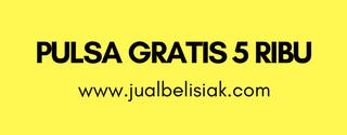 Pulsa Gratis 5 Ribu dari Jualbelisiak.com