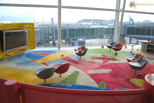 Aeroporto Hong Kong, area gioci aeroporto Hong Kong, International Airport Hong Kong