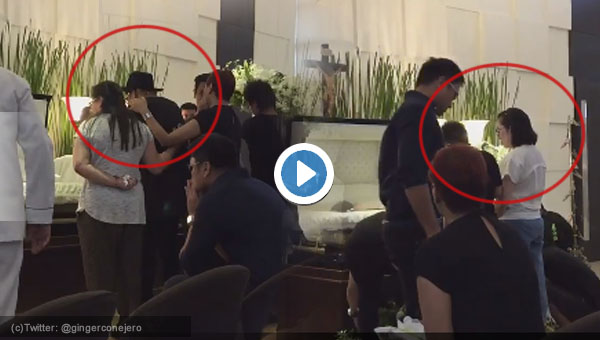 Watch: Vice Ganda breaks down at Wenn Deramas' wake; Kris Aquino arrives
