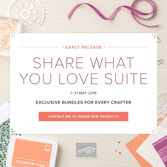 Stampin' Up! Share What You Love Suite Early Release order now from Mitosu Crafts UK Online Shop