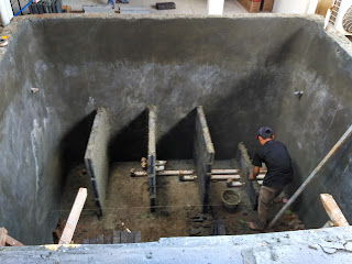 jasa membuat filter koi , jasa renovasi kolam