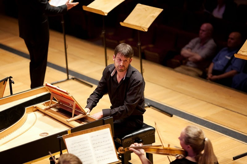 Thomas Foster directing Opera Settecento's performance of Vivaldi's Griselda at Cadogan Hall