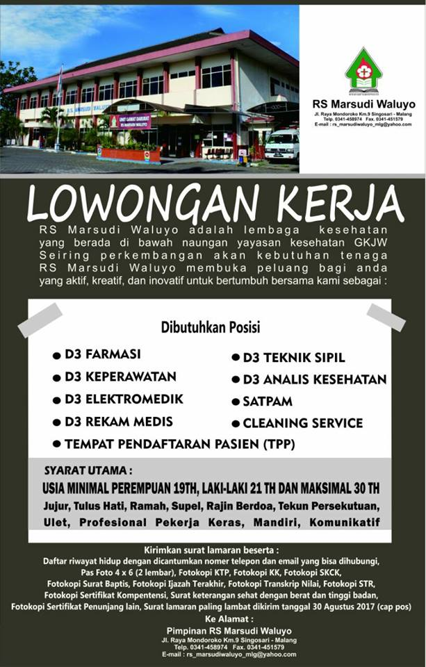 Lowker RS Marsudi Waluyo Malang Agustus 2017 - Longan Malang