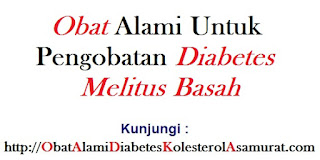 Obat Alami untuk Pengobatan Diabetes Melitus Basah