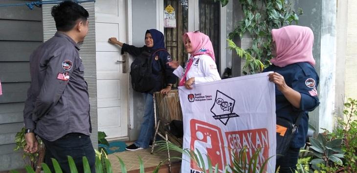 KPU Gowa Maksimalkan Gerakan Ketuk Seribu Pintu