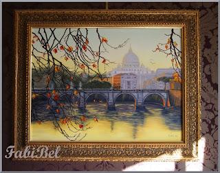 huile sur toile paysage oil on canvas landscape