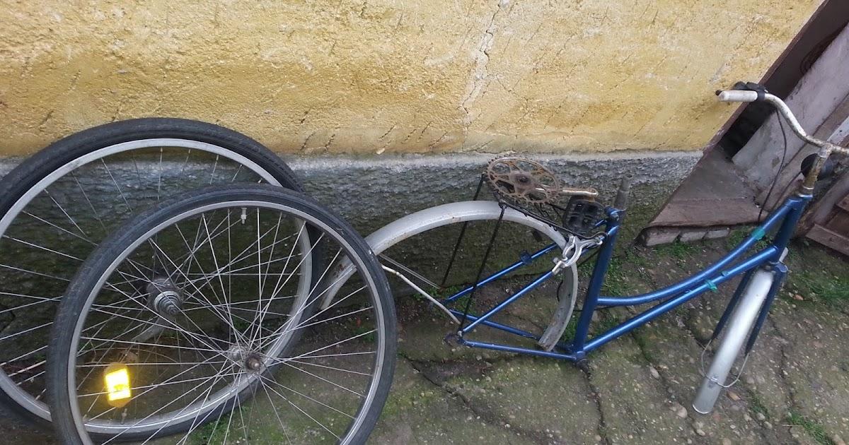 Bicikli sárvédő házilag