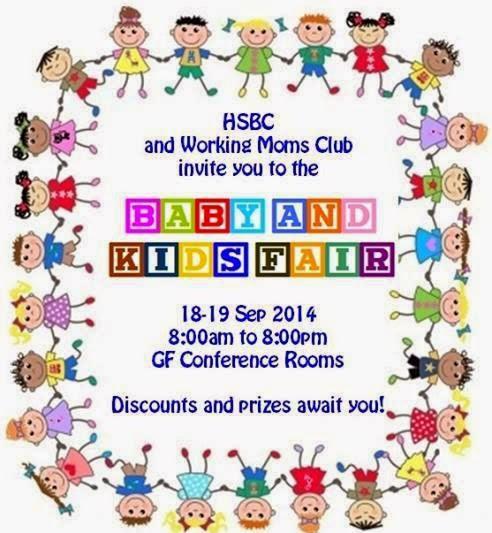 Manila Shopper: Baby & Kids Fair at HSBC Centre BGC: Sept 2014