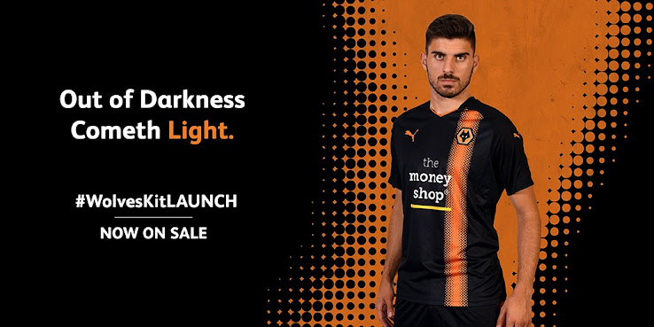 cc99ef9984c Wolverhampton Wanderers' record signing Ruben Neves today presented the  club's new away kit for the 2017-2018 season after the home kit was already  released ...