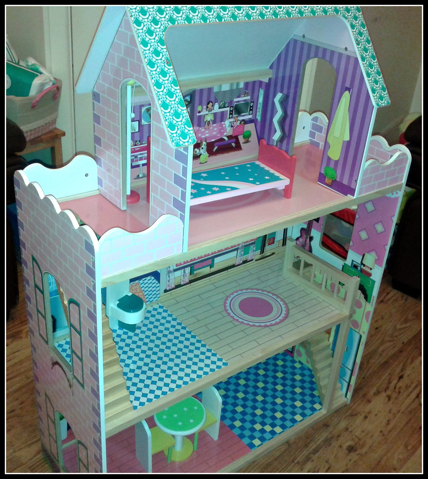Child S Table And Chairs Asda Sears Recliners Wmsb: Review: Direct Wooden Glamour Mansion