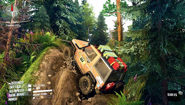 Map IOX Adventure Offroad v1.0 – Spintires Mudrunner