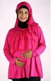 Baju Muslim Untuk Ibu Hamil Dan Menyusui