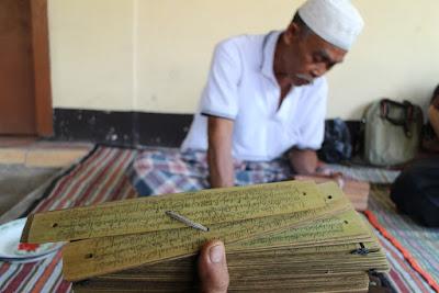 naskah kuno, naskah lontar, naskah kuno lombok, nyaer