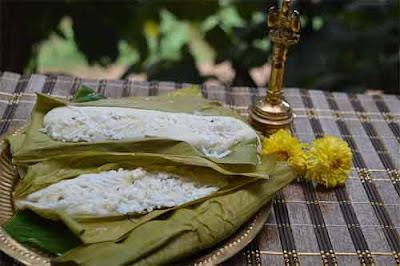 Haladi Patra Pitha delicacy Prathamastami