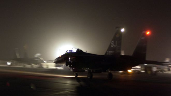 US says it killed 11 al-Qaeda operatives in Syria air strikes