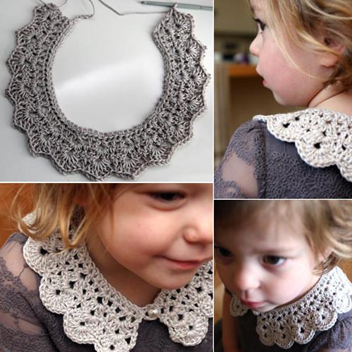 Crochet Collar Free Pattern