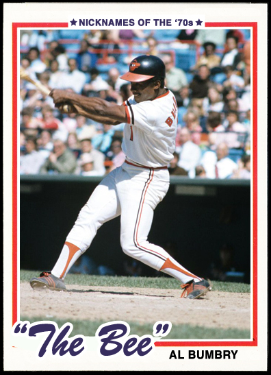 When Topps Had Baseballs Nicknames Of The 1970s The Bee Al