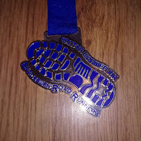 Fitbitches : My Running Medals in 2017 - Blackburn Road Runners Winter Warmer 10k