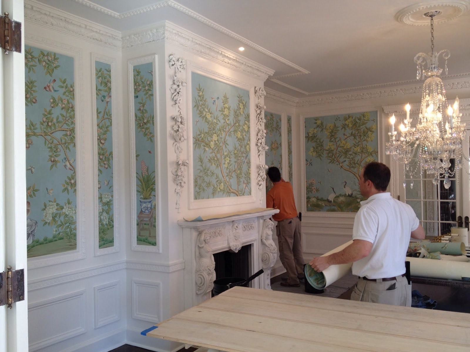 Reusing Gracie Wallpaper The Well Appointed House Blog