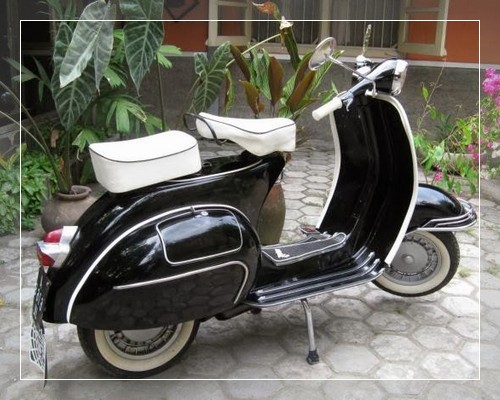 Foto gambar modifikasi vespa px super excel drag racing ...