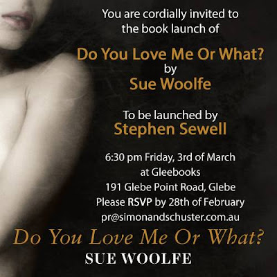 BOOK LAUNCH: SUE WOOLFE
