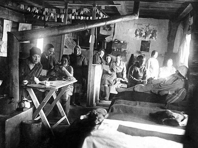 O campo de trabalho forçado de Vorkuta acumulava 28.000 prisioneiros