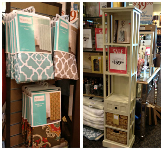 They Have A Great Selection Of Bathroom Accents I Really Loved These Shower Curtains And The Tall Organizer