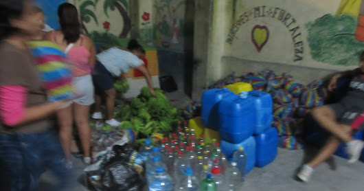 Aid from First Baptist Church, Santo Domingo