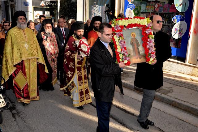 """Λαμπρές εκδηλώσεις στην Αθήνα για τον Άγιο Αναστάσιο από το Σύλλογο των Απανταχού Ναυπλιέων """"Ο Ναύπλιος"""""""