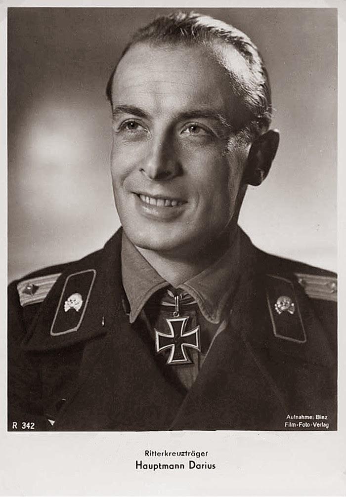 Wolfgang Darius Ritterkreuzträger Knight Cross Holder Postcard