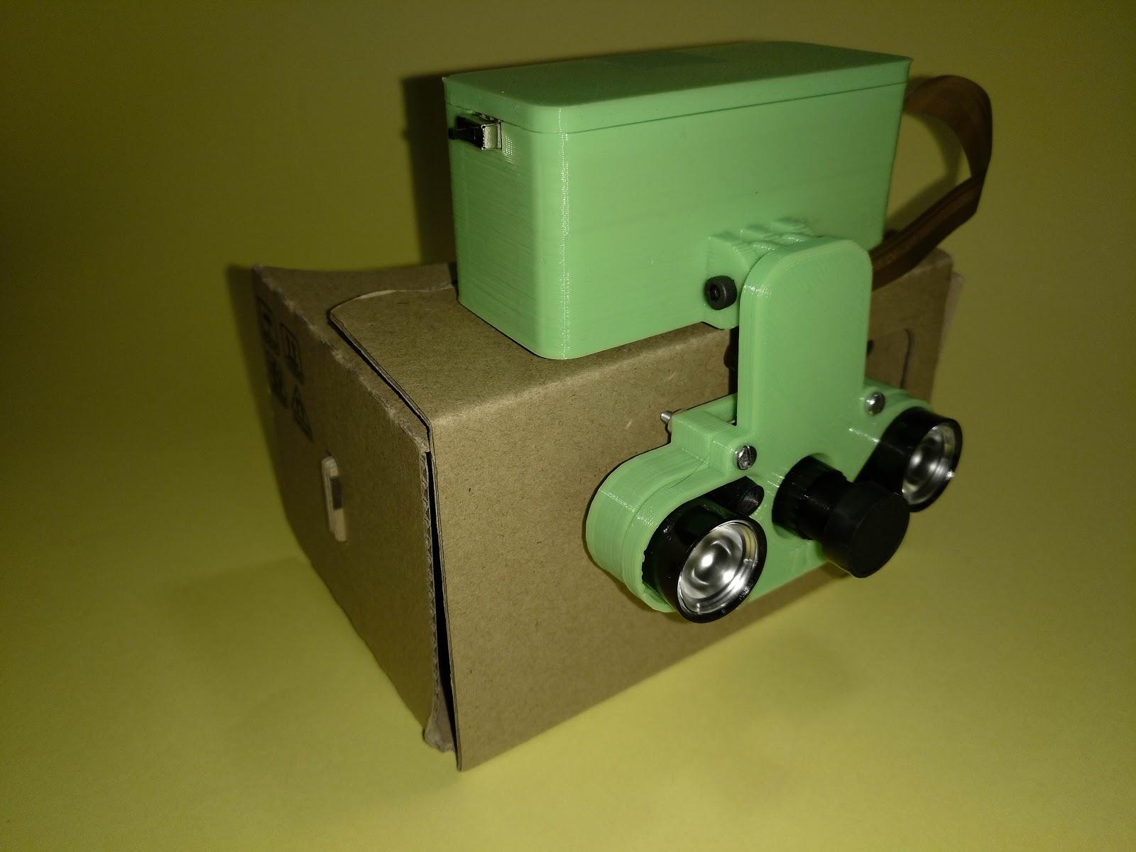 Robot Styles: GaViNo - Unas gafas de visión nocturna DIY