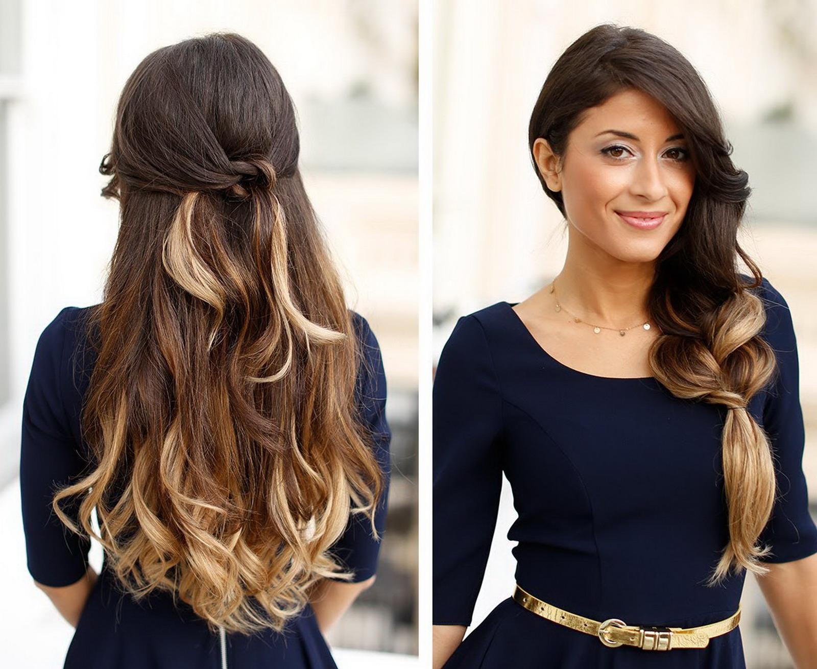 Marvelous Celebrity Hairstyles Long Hair Summer 2016 Hairstyles For Women Draintrainus